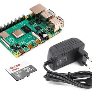 Kit de inicio Raspberry Pi 4 - 8Gb mci07662